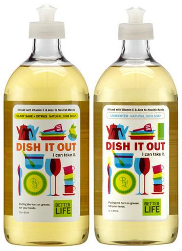 Better Life Dish it Out Dish Soap