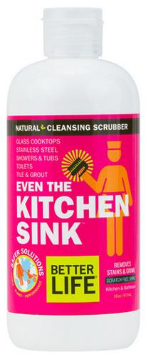 Even the Kitchen Sink Cleaning Scrubber